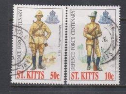 ST. KITTS, USED STAMP, OBLITERÉ, SELLO USADO. - St.Kitts E Nevis ( 1983-...)