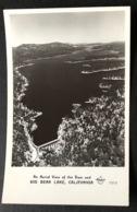 Aerial View Of The Dam And Big Bear Lake California - San Bernardino