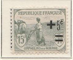 PIA - FRA -1922 : Sovrattassa A Favore Della Croce Rossa - Orfani Di Guerra   - (Yv 164) - Primo Soccorso