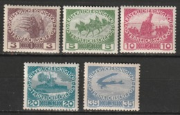 Autriche N° 138 - 142 * - 1850-1918 Impero