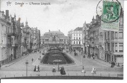 BELGIQUE-OSTENDE L'avenue Léopold...MI - Oostende