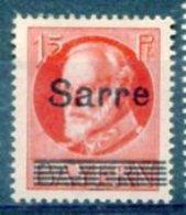 Sarre Saargebiet Mi 20 * Lignes Trouées - 1920-35 Société Des Nations
