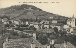 CARTE POSTALE ORIGINALE ANCIENNE : SAINT CYR AU MONT D'OR LE MONT CINDRE  RHONE (69) - France