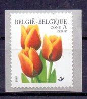 Belgie - 1999 - OBP - ** 2855 -  Rolzegel 92  - Tulp -  Bloemen -  Andre Buzin - 1985-.. Birds (Buzin)