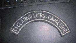Titre D Epaule Du 3 Regiment De Cuirassiers - Patches
