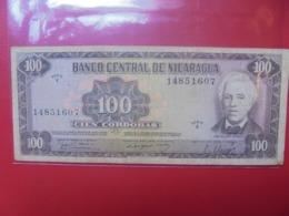 NICARAGUA 100 CORDOBAS 1979 CIRCULER (B.9) - Nicaragua