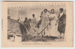 Maroc - Four De Campagne à Settat - Type Israélite - Maroc