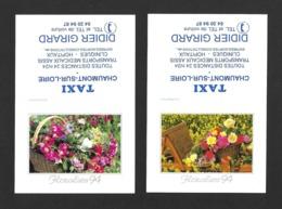 2 Calendrier De Poche 1994.   Taxi Girard à Chaumont Sur Loire.   Floralies 94. - Klein Formaat: 1991-00