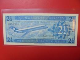 ANTILLES NEERLANDAISES 2 1/2 GULDEN 1970 PEU CIRCULER (B.9) - Antille Olandesi (...-1986)