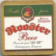 ROOSTER  PIVO Zrenjanin Brewery  Yugoslavia Serbia Old Beer Coaster - Beer Mats