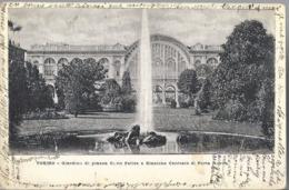 Torino - Giardino Di Piazza Carlo Felice E Stazione Centrale Di Porta Nuova - HP1953 - Parcs & Jardins