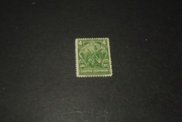 K23711 - Stamp Mint Hinged   Costa Rica 1923 - UPU - 4c Green - Costa Rica