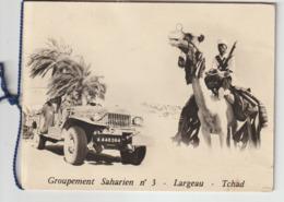 Tchad - Groupement Saharien N°3 - Largeau (carte Double) - Chad
