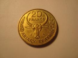 MONNAIE MADAGASCAR 20 FRANCS 1970 - Madagaskar