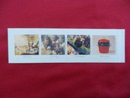Belgique - Carnet De  4 Timbres Neufs- Musées Royaux Des Beaux Arts De Belgique - 2001 - Booklets 1953-....