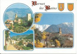 VERNET LES BAINS  (scan Verso) - France