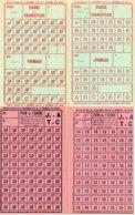Documents- 8 Feuilles- Rationnement- J1 Et V-/  J2 Et A -/ T.C.. / - Documenti