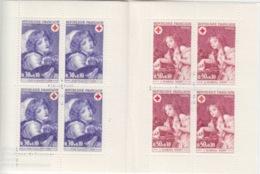 Carnet Croix Rouge 1971 (J.B. Greuze N° 1700 Jeune Fille, 1701 Enfant à L'oiseau), Neuf Sans Traces - Rode Kruis