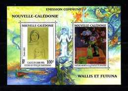 Nlle CALEDONIE 2003, Bloc  N° 28 ** Neuf MNH Superbe GAUGUIN Peintures Fleurs Paintings Flowers - Blocs-feuillets