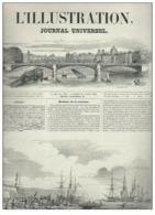 Journal Au Titre De L'illustration Journal Universel N°322 Vol XIII Nouvelles Du Choléra - Expédition En Italie 1849 - Kranten