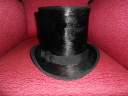 Haut De Forme Et Boîte De Transport Chapeau Haut De Forme - 1900-1940