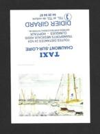 Calendrier De Poche 1994.   Taxi Girard à Chaumont Sur Loire. - Klein Formaat: 1991-00