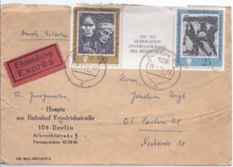 AK-div.32- 60261 - 'DDR  Zusammendruck  Frankatur - Nach Berlin 31 - Per Einschreiben Eilboten - [6] Repubblica Democratica