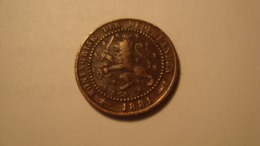 MONNAIE PAYS BAS / 1 CENT 1881 - [ 1] …-1795 : Periodo Antico