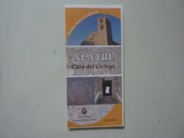 """Pieghevole Illustrato """"ALATRI Città De Ciclopi"""" - Dépliants Turistici"""