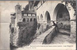Santuario Di Santa Caterina Del Sasso Presso Laveno - Varese - HP1955 - Varese
