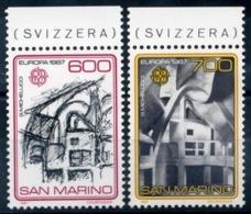 1987 SAN MARINO SERIE EUROPA NUOVA MNH ** - Saint-Marin