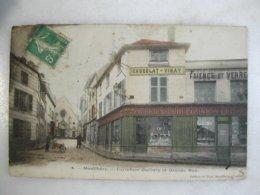 MONTLHERY - Carrefour Guillory Et Grande Rue (animée Avec Commerces) - Montlhery