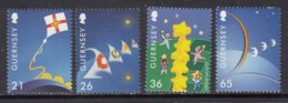 Guernsey MNH Michel Nr 851/54 From 2000 / Catw 7.00 EUR - Guernesey