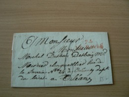 CP 160 / LETTRE MARQUE POSTALE - France