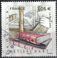 France 2019 Oblitéré Rond Used Métiers D'Art Relieur SU - Gebruikt