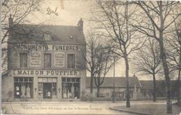 CPA Dijon Route D'Auxonne En Face Le Nouveau Cimetière - Dijon