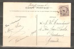 Lot  1679    //   CARTE SAGE   3c  Pour BORDEAUX - France