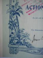 Cie Gle D'ABYSSINIE 1927    ETHIOPIE ADDIS ABEBA - Afrique