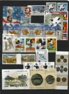 ALBANIA 1999 Year Set . 22 Issues ( 40 St.+5 M/s) - Albania
