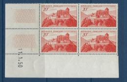 """FR Coins Datés YT 841A """" St-Bertrand-de-Cominges """" Neuf** Du 11.1.50 - Ecken (Datum)"""
