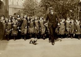 TEDDY BEAR ROOSEVELT OSSO   GIRLS SCHOOL HAMMERSMITH ENGLAND  +++- 16*12CMFonds Victor FORBIN (1864-1947) - Fotos