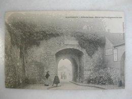 MONTLHERY - Porte De Linas - Restes Des Fortifications De 1589 (animée) - Montlhery