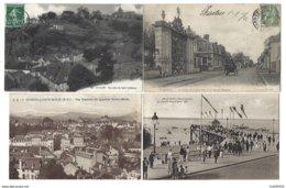 FRANCE - Lot De 53 CPA - Pas De Paris, Nice, Lourdes... - Postcards