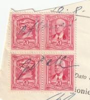 REGNO D'ITALIA - IMPOSTA SULL'ENTRATA - Quartina - 1861-78 Victor Emmanuel II.