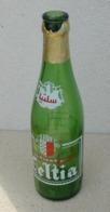 Tunisie Bouteille Vide Empty Beer Bottle Bière Celtia Sérigraphiée - Bière