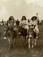 MARGATE GYMKHANA FINISH OF GIRLS DONKEY RACE DERBY   ENGLAND  +++- 18*13CMFonds Victor FORBIN (1864-1947) - Photographs