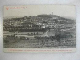 MONTLHERY - Vue Générale, Prise De La Carrière De M. Provost, Côteau Des Petits Champs (mai 1907) - Montlhery