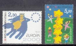 Croatia MNH Michel Nr 544/45 From 2000 / Catw 4.00 EUR - Croazia