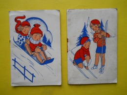 2 Calendriers ,à La Montagne ,memento, 1936 - Kalenders