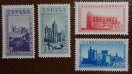 &85& ESPAÑA, SPAIN EDIFIL SH 847, MICHEL 787/790 UNUSED NO GUM (*).  SIN GOMA. - 1931-Heute: 2. Rep. - ... Juan Carlos I